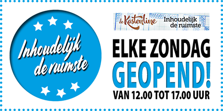 kastenline-zondag-open